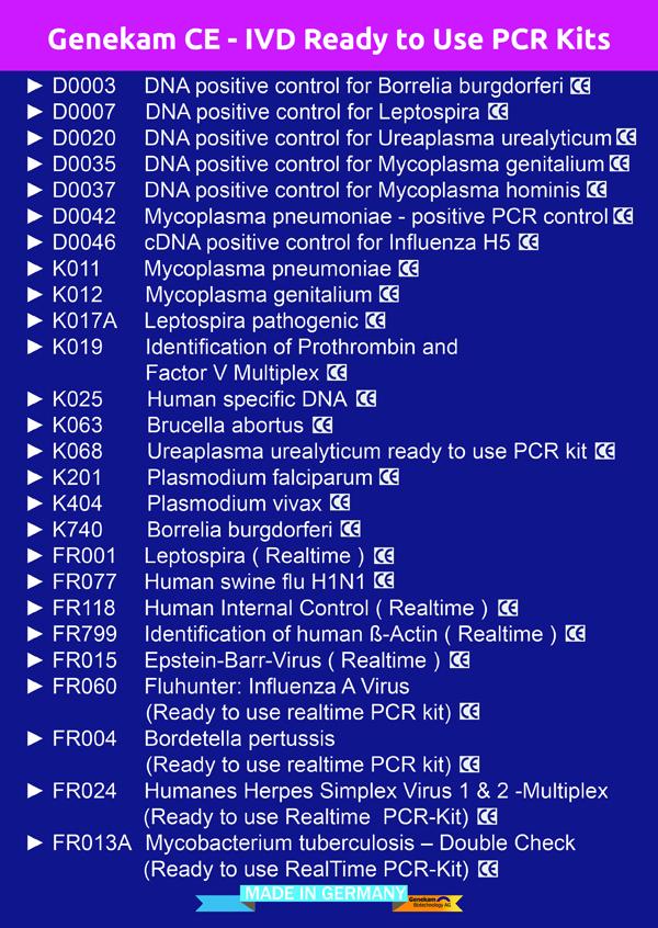 Genekam-diagnostic-kits